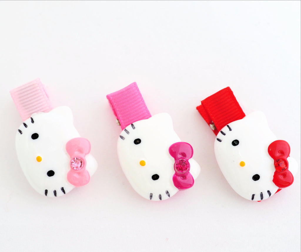Hello Kitty Mini Hair Clip Trio