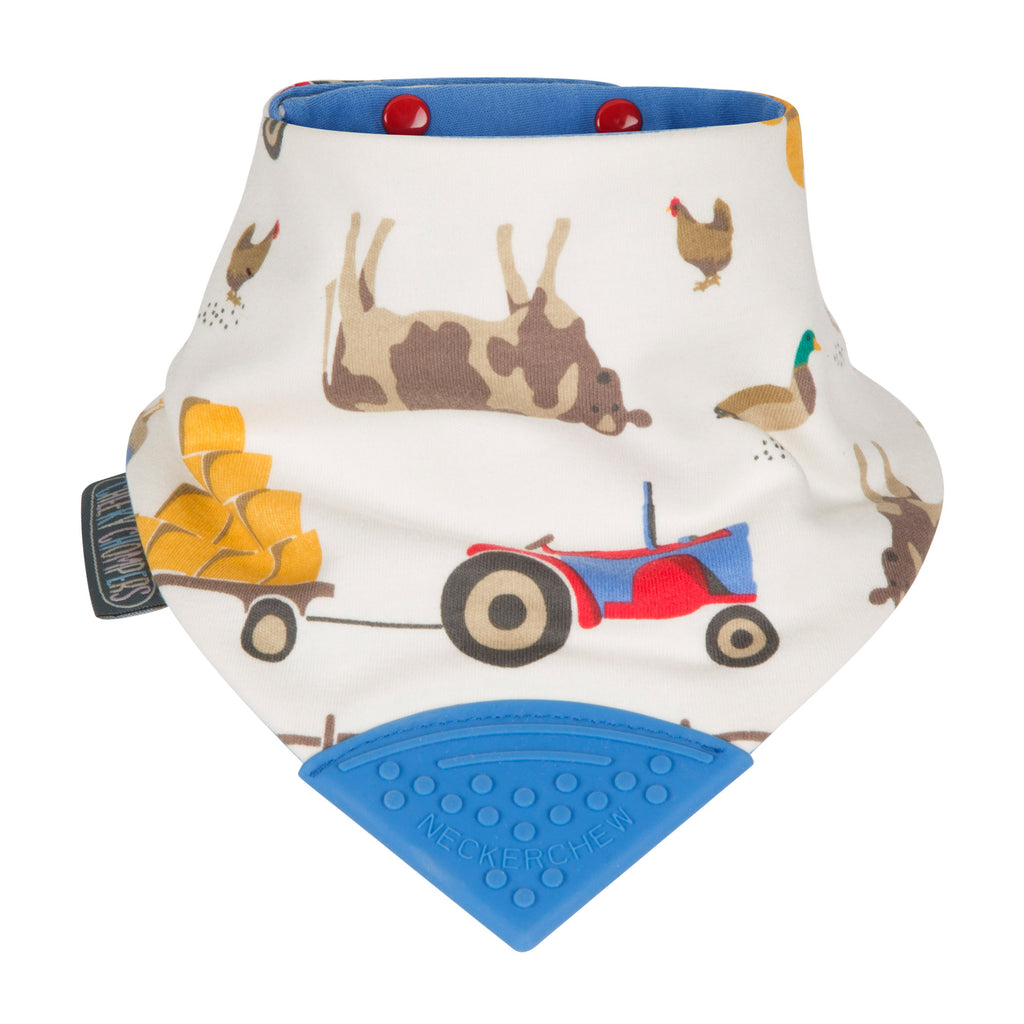 Neckerchew Baby Bib - Farmer Joules
