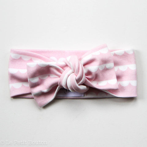 "Organic Top Knot ""Lia "" Headband"