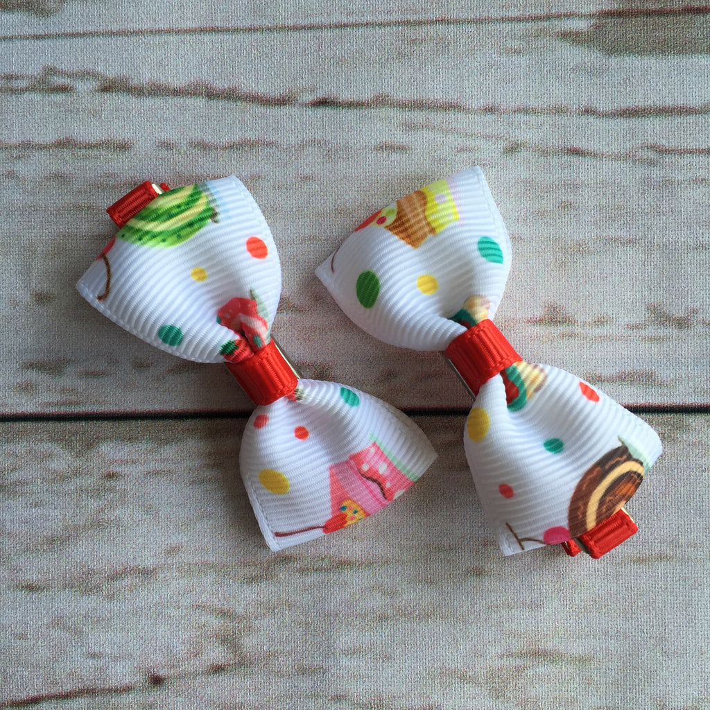 Baby Classic Bow Clips - Yummilicious