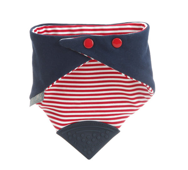 Neckerchew Baby Bib - Royal Chic
