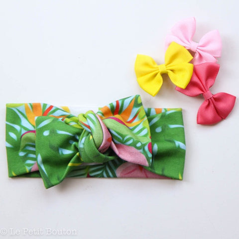 "Organic Top Knot ""Summer"" Headband"