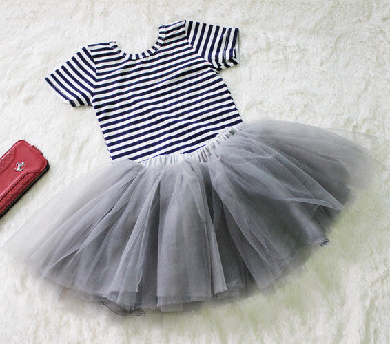 Bella Tutu Skirt - Grey