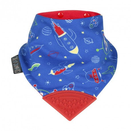 2016 Neckerchew Baby Bib - Space Rockers