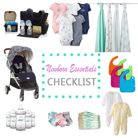 The Guide To Newborn Basic Essentials Free Printable Checklist
