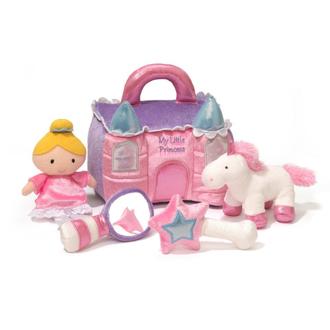 Baby Gund Princess Castle Playset - Soft Toys - Just Hatched Diaper Cakes