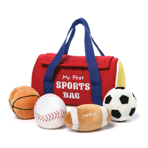 Baby Gund My 1st Sportsbag Playset - Soft Toys - Just Hatched Diaper Cakes