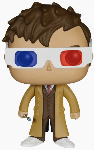 Doctor Who - 10th Doctor 3D Glasses US Exclusive Pop! Vinyl Figure