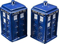 Doctor Who - TARDIS Salt & Pepper Shaker Set
