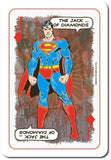 DC Comics Retro Waddingtons Playing Cards