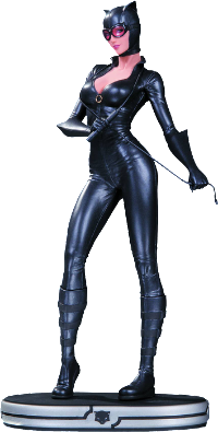 Batman - Catwoman DC Cover Girls Statue