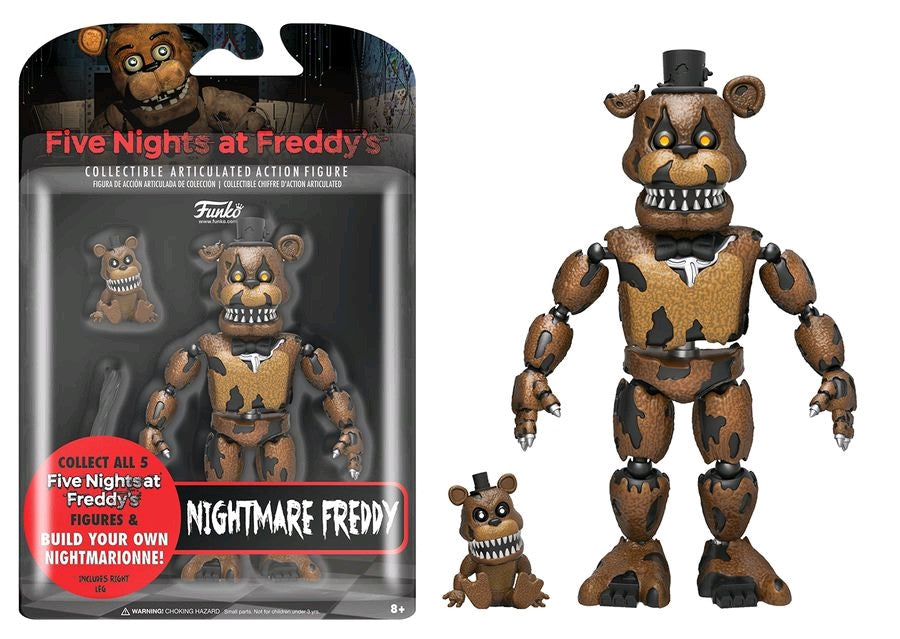 "Five Nights at Freddy's - Nightmare Freddy 5"" Action Figure"