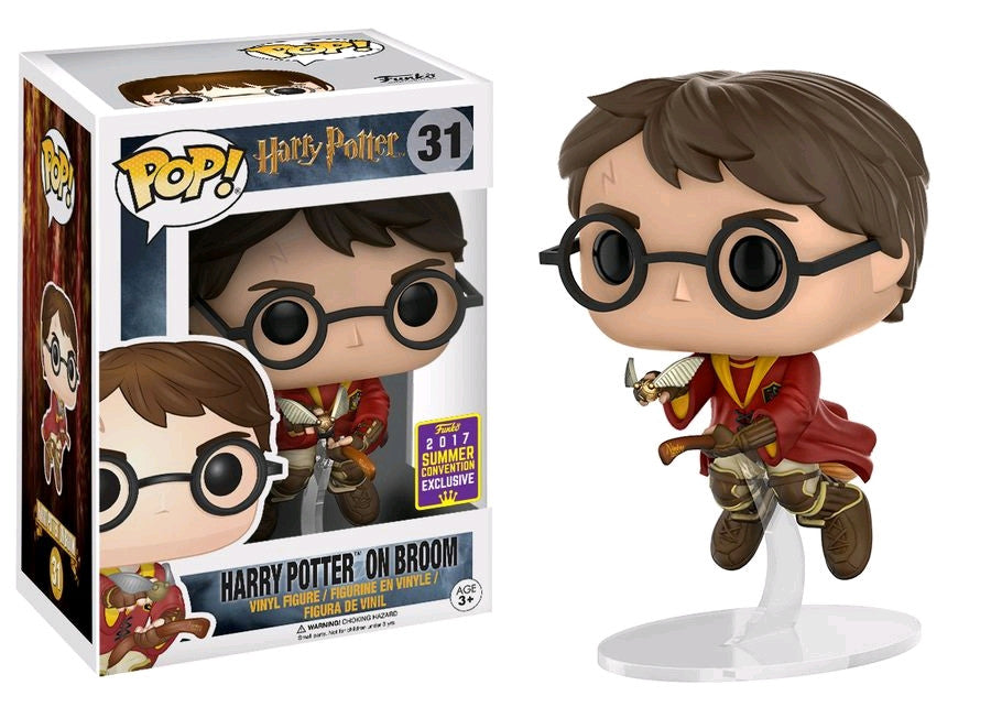 Harry Potter - Harry Potter on Broom SDCC 2017 US Exclusive Pop! Vinyl [RS]