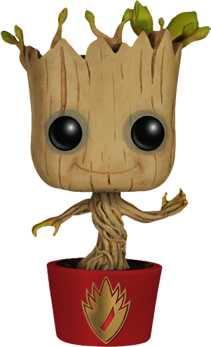Guardians of the Galaxy - Dancing Groot Ravagers Pot US Exclusive Pop! Vinyl [RS]