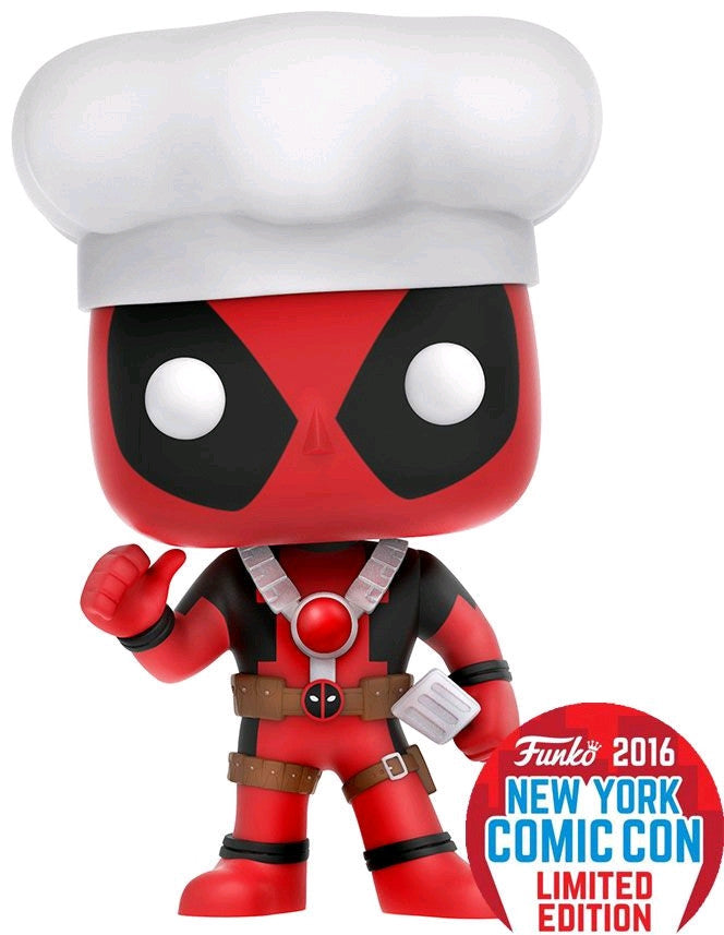 Deadpool - Chef Deadpool NYCC 2016 US Exclusive Pop! Vinyl Figure