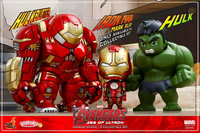 Avengers 2: Age of Ultron - Series 1.5 Hulk Hulkbuster & Damaged Iron Man Set