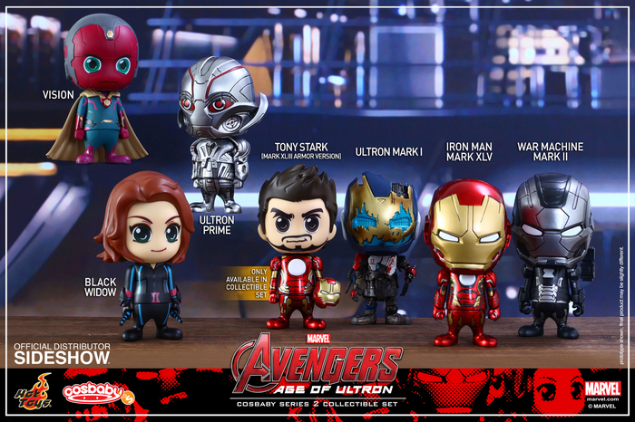 Avengers 2: Age of Ultron - Cosbaby Series 2 (Set of 7)