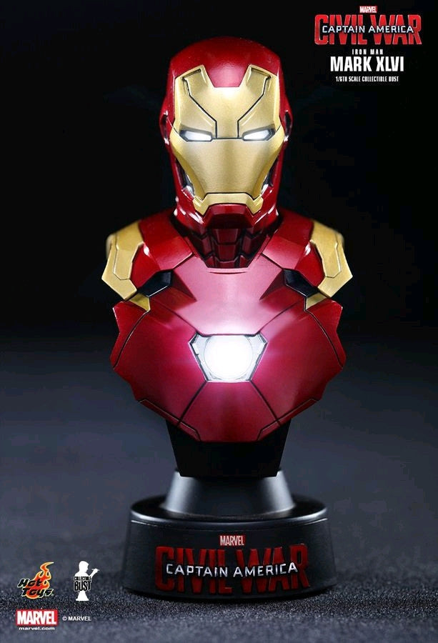 Captain America 3: Civil War - Iron Man Mark XLVI 1:6 Scale Bust
