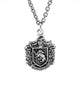 Harry Potter - Hufflepuff Crest Sterling Silver Pendant