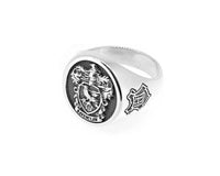 Harry Potter - Ravenclaw Sterling Silver House Crest Signet Ring