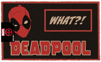 Deadpool - What?! - Doormat