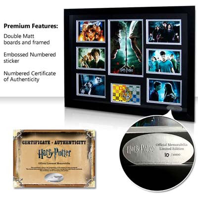 Harry Potter - Movies - Framed - Limited Edition