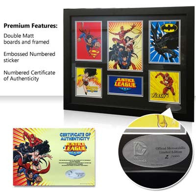 DC Comics - Justice League - Framed - Limited Edition