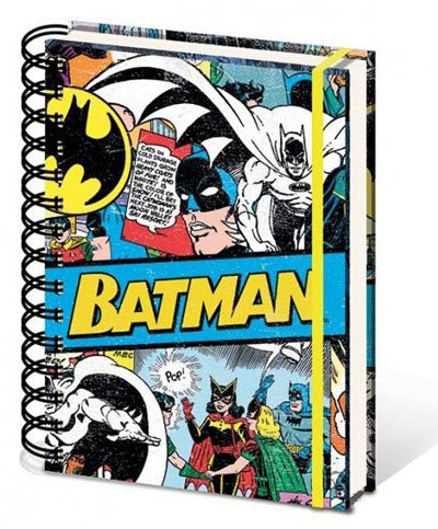 DC Comics - Batman Retro - Spiral Notebook