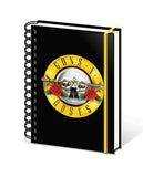 Guns N' Roses - Logo - A5 Spiral Notebook