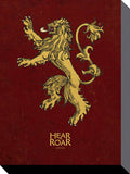 Canvas - Game of Thrones - Lannister Sigil - 30cm x 40cm
