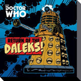 Dr Who - Return Of The Daleks - Canvas - 40cm x 40cm