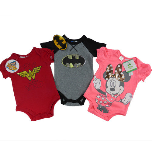 Wonder Woman Baby One Piece Suit (Licensed)