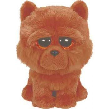 Ty Beanie Boos Regular - Barley the brown chow dog