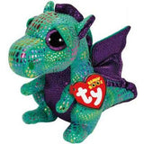Ty Beanie Boos Regular - Cinder the green dragon