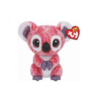 Ty Beanie Boos Regular - Kacey the pink koala