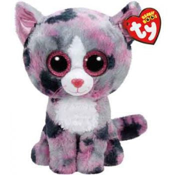 Ty Beanie Boos Regular - Lindi the pink cat