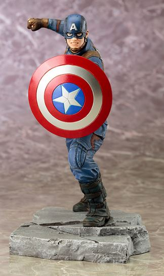 CAPTAIN AMERICA: CIVIL WAR MOVIE Captain America ArtFX+ Statue