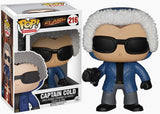 Flash TV - Captain Cold Pop! Vinyl Figure