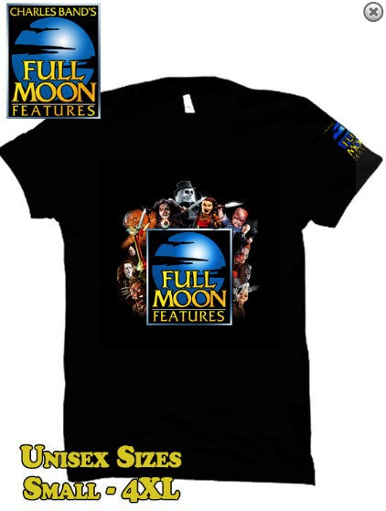 Full Moon Features Logo T-Shirt