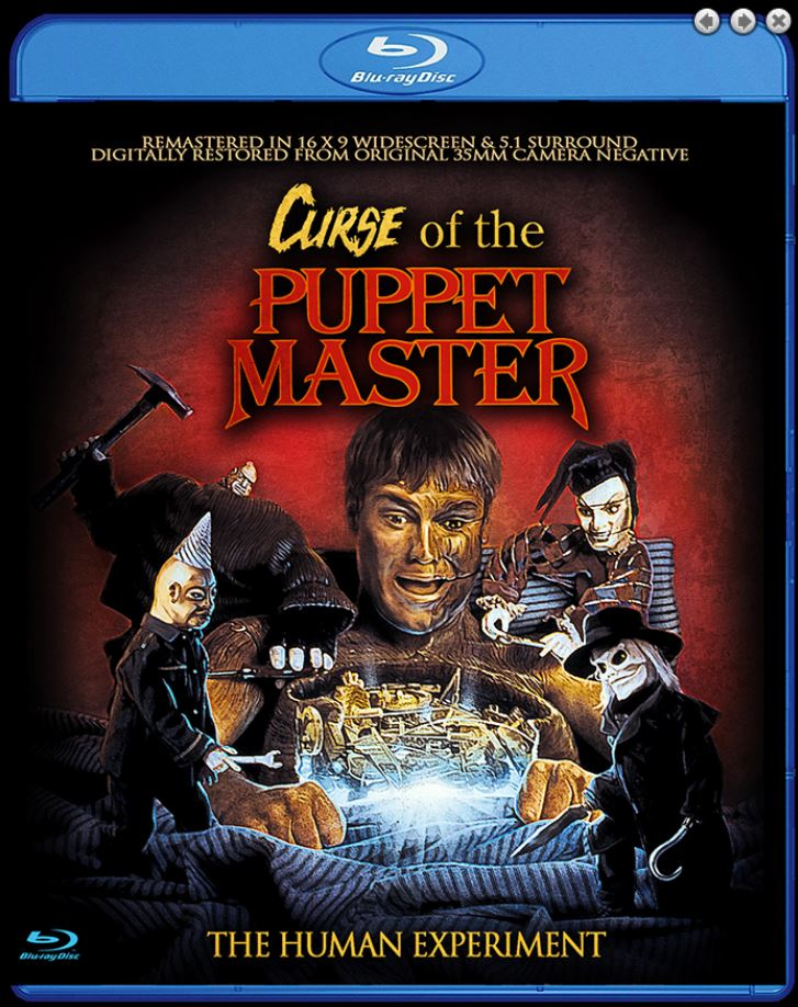 Curse of the Puppet Master Blu-ray