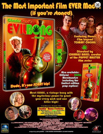 Evil Bong DVD (RATED M)