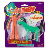 Gumby & Pokey Bendable Figure Pair
