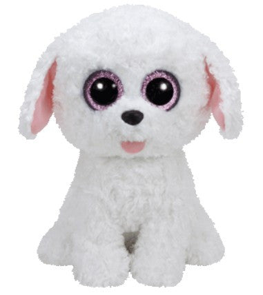 Ty Beanie Boos Medium - Pippie the white dog