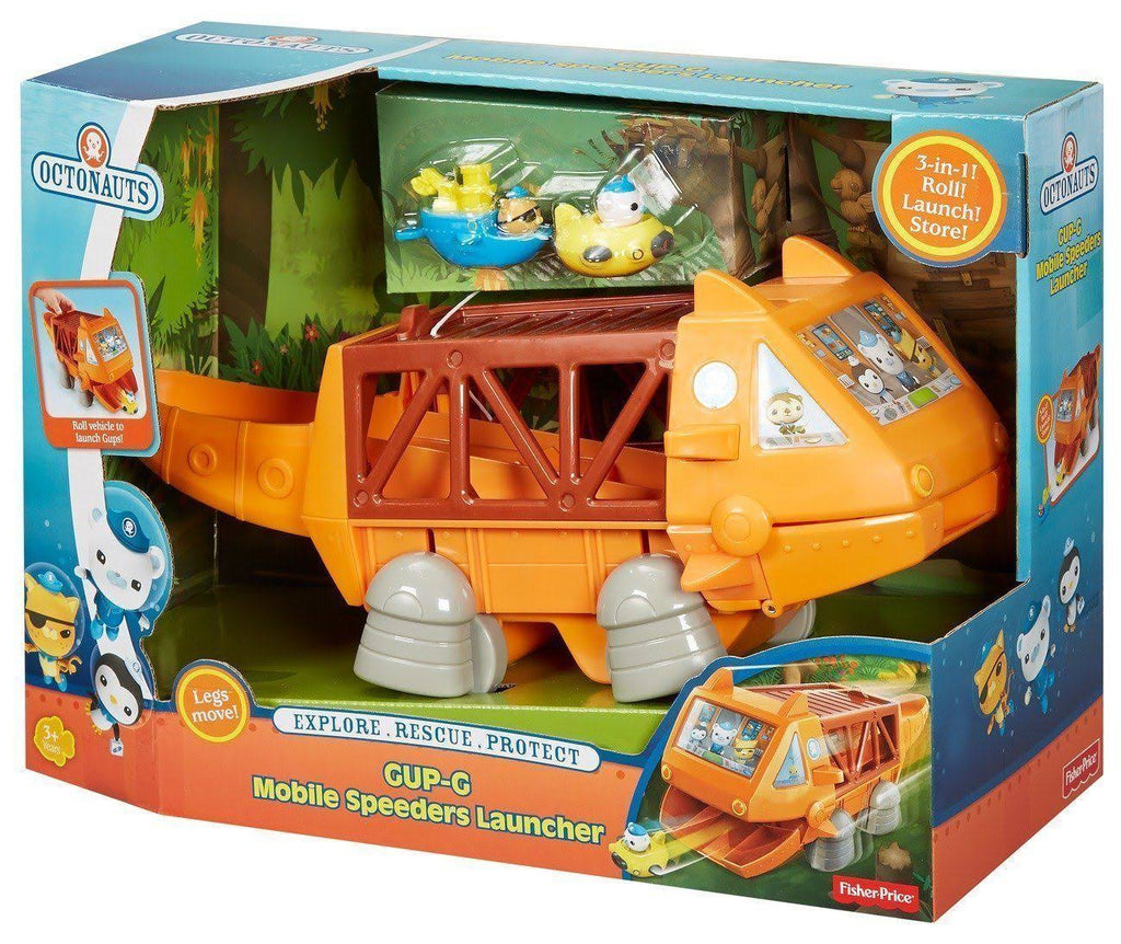 Fisher-Price Octonauts Gup G - Mobile Speeders Launcher