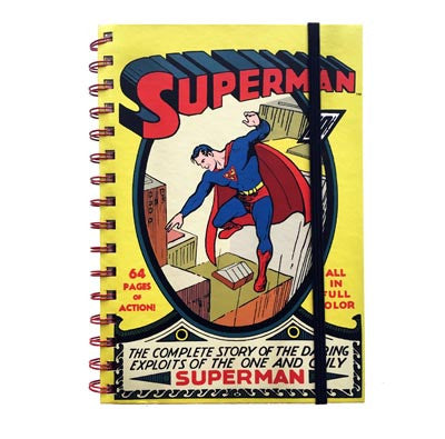 DC Comics - Superman No. 1 - Spiral Notebook