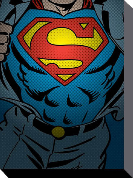 DC Comics - Superman Torso - Canvas - 60x80cm