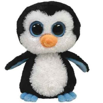 Ty Beanie Boos Medium - Waddles the penguin