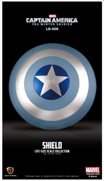 Captain America 2: The Winter Soldier - Life Size Shield Replica Blue Version