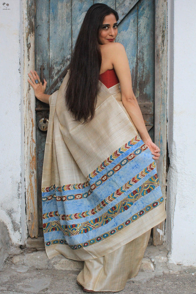 The QOH Kalamkari Saree
