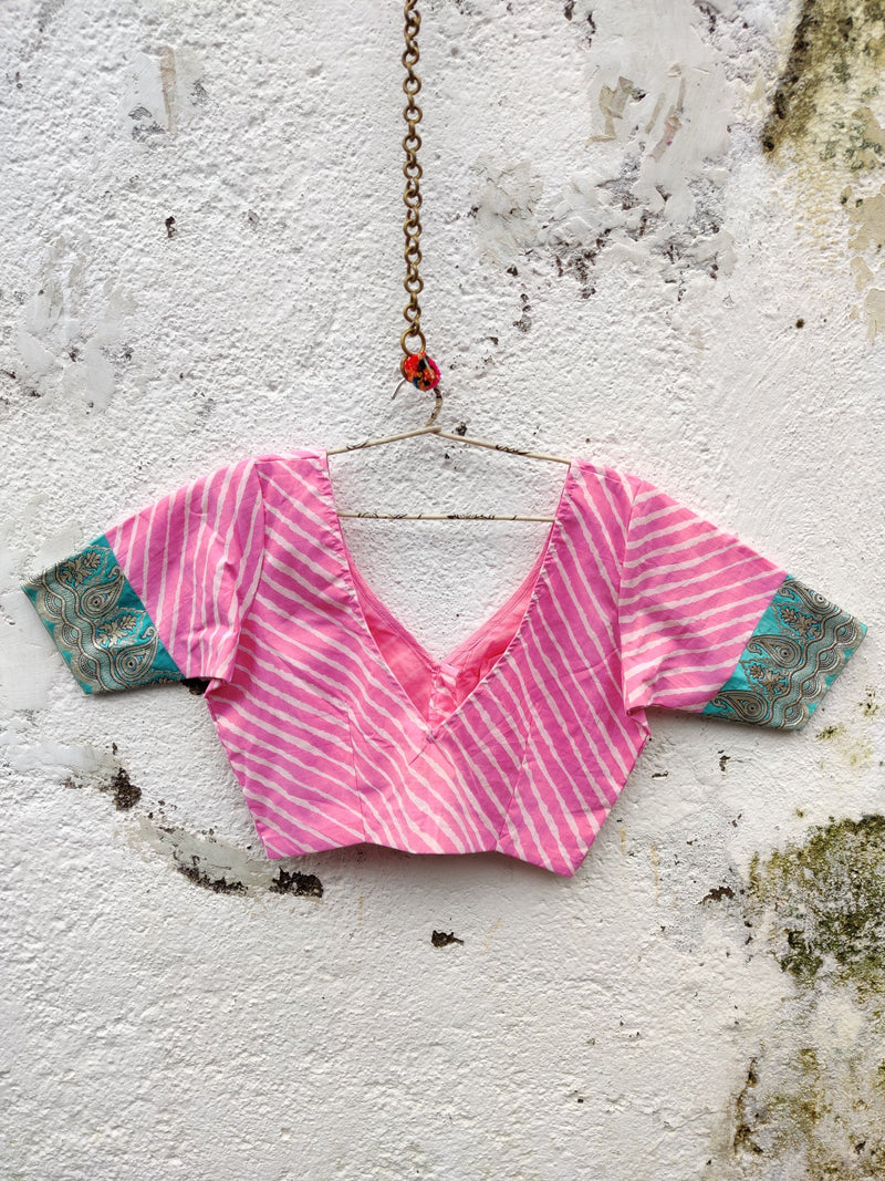 Nur Jehan Blouse - Candy Pink